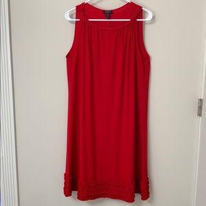 Forever, red dress